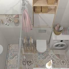 ห้องน้ำ โดย DW SIGN Pracownia Architektury Wnętrz,