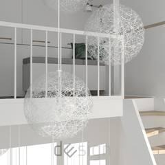 Wola IV | Wizualizacje: styl , w kategorii Korytarz, przedpokój zaprojektowany przez DW SIGN Pracownia Architektury Wnętrz