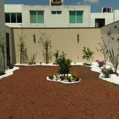 CASA CORREGIDORA I: Jardines de estilo  por DEC Arquitectos
