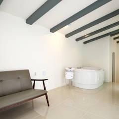 The Secret Pool Villa Resort 북한강(가평) Type Steel②: IAMDESIGN.의  호텔