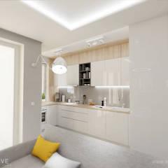 Muebles de cocinas de estilo  por INVENTIVE studio