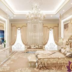 Luxury house design of Katrina Antonovich: classic Bedroom by Luxury Antonovich Design