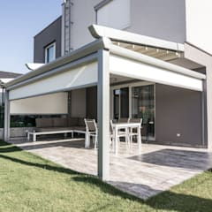 Anexos de estilo minimalista por PERGOLA A.Ş.