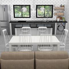 Cocina Comedor: Muebles de cocinas de estilo  por JACH