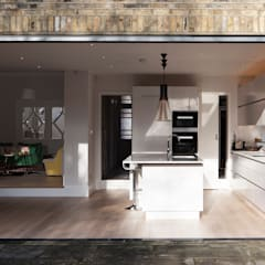 Style It Dark:  Built-in kitchens by Moxy & Co Studio