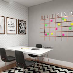 Study/office by Rebeka Ferle Maske, Modern MDF