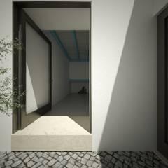 Casa Cabeço de Vide, Portugal: Terraços  por brf architecture