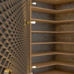 Loft em Marvila, Lisboa, Portugal: Quartos  por brf architecture