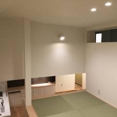 子供部屋になるロフトスペース 屋上を覗けます: Lods一級建築士事務所が手掛けた子供部屋です。