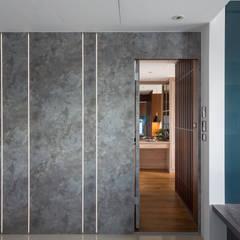 Portes de style  par DYD INTERIOR大漾帝國際室內裝修有限公司