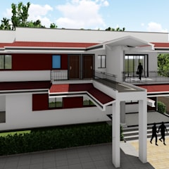 Fernandes Brothers @ Nagoa, Goa:  Multi-Family house by Cfolios Design And Construction Solutions Pvt Ltd