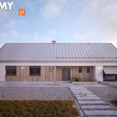 Projekt domu Jemioła 2 Skandynawskie domy od Biuro Projektów MTM Styl - domywstylu.pl Skandynawski