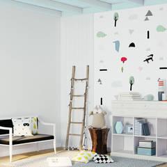 tapeta dziecięca Fairy Tale: styl , w kategorii Pokój dla dziecka zaprojektowany przez Humpty Dumpty Room Decoration