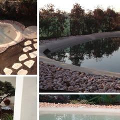 RESTYLING VILLA: Laghetto da giardino in stile  di CDA studio di architettura