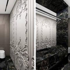 LIGHT MY FIRE | I | Wnętrze domu: styl , w kategorii Łazienka zaprojektowany przez ARTDESIGN architektura wnętrz