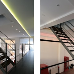 Escaleras de estilo  por CDA studio di architettura