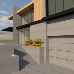 Milimetrekare Tasarım ve Mimarlık – O EVİ / Sarıyer:  tarz Zeminler