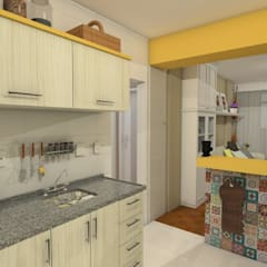 Kitchen units by AT arquitetos