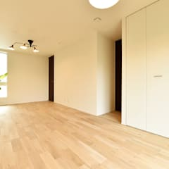 将来間仕切り可能な子供部屋: タイコーアーキテクトが手掛けた子供部屋です。