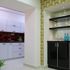 Ruang Penyimpanan Wine by Enrich Interiors & Decors
