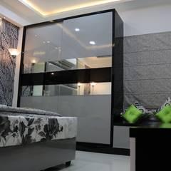 اتاق خواب by Enrich Interiors & Decors
