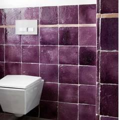 Handmade terracotta: Product of passion - Wall tiling:  Kantoor- & winkelruimten door Terrecotte Benelux