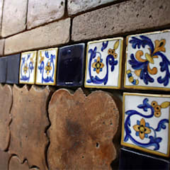 Handmade terracotta: Product of passion - Wall tiling:  Musea door Terrecotte Benelux