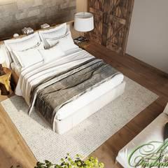 Bedroom by Компания архитекторов Латышевых 'Мечты сбываются', Country