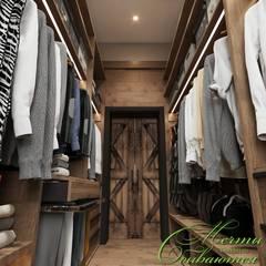 country Dressing room by Компания архитекторов Латышевых 'Мечты сбываются'