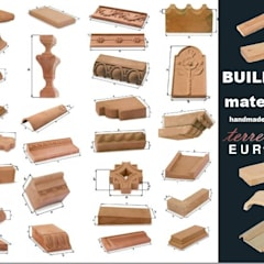 Handcrafted terracotta building materials for renovation and restoration:  Musea door Terrecotte Benelux