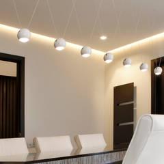 Proyecto Años Luz: Estudios y despachos de estilo  de Milan Iluminación