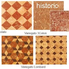 Handcrafted terracotta: Padania historic floors:  Musea door Terrecotte Benelux