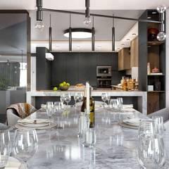 VERO CONCEPT MİMARLIK – Kalafatoğlu Villa İç Mekan:  tarz Yemek Odası
