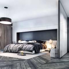 VERO CONCEPT MİMARLIK – Kalafatoğlu Villa İç Mekan:  tarz Yatak Odası
