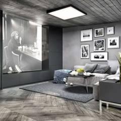VERO CONCEPT MİMARLIK – Kalafatoğlu Villa İç Mekan: modern tarz Multimedya Odası