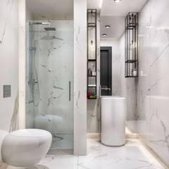 VERO CONCEPT MİMARLIK – Kalafatoğlu Villa İç Mekan:  tarz Banyo, Modern