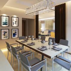 Dining Room:  غرفة السفرة تنفيذ SIGMA Designs