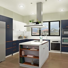 Kitchen by Espacio Arual, Minimalist