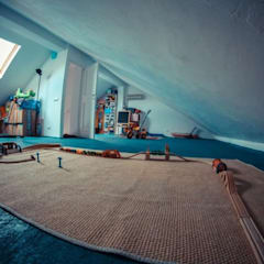 سقف جمالون تنفيذ atelier architettura