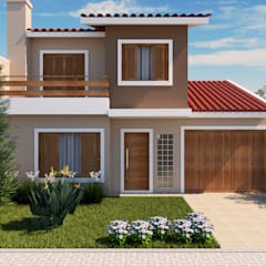 منازل تنفيذ Adriana Costa Arquitetura