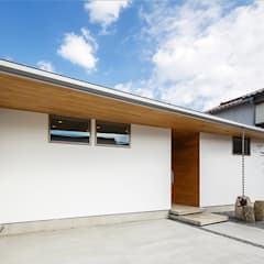 haus-flow 外観: 一級建築士事務所hausが手掛けた一戸建て住宅です。