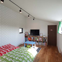 設計事務所アーキプレイス의  어린이용 침실