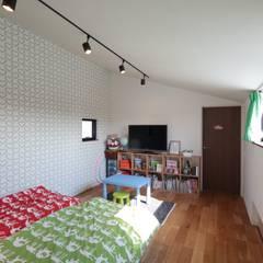 Teen bedroom by 設計事務所アーキプレイス