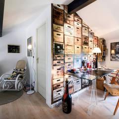 MAISON BORDEAUX Tresses: Bureau de style de style Scandinave par Julie Chatelain