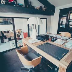 Loft BORDEAUX Chartrons: Bureau de style  par Julie Chatelain