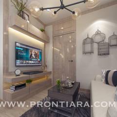 Plum condo 22.5:  ห้องนอน by Prontiara