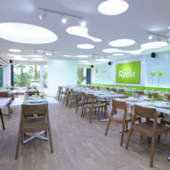 TWO DIFFERENT EXCITEMENT RESTAURANT & LOUNGE @ LIPPO CIKARANG:  Restoran by PT. Dekorasi Hunian Indonesia (DHI)