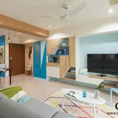 Living room by 秐果設計