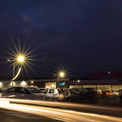 Ampliação e Remodelação do Hipermercado Continente - Angra do Heroísmo Lojas e Espaços comerciais industriais por PE. Projectos de Engenharia, LDa Industrial