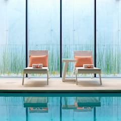 Piscinas infinitas de estilo  por Ciela - Look at the Sky Furniture